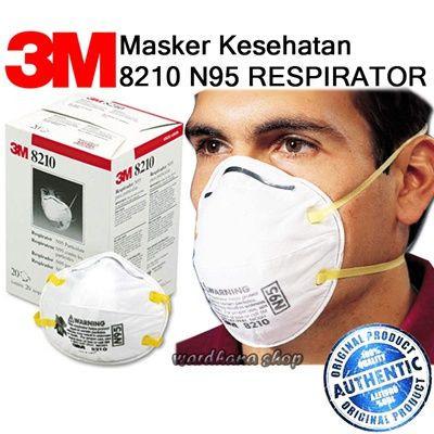 3 M 8210 N95 Particulate Respirator