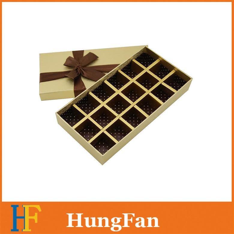 Printed Display Cosmetic Chocolate Perfume Vial Window Packing Gift Packaging Paper Box