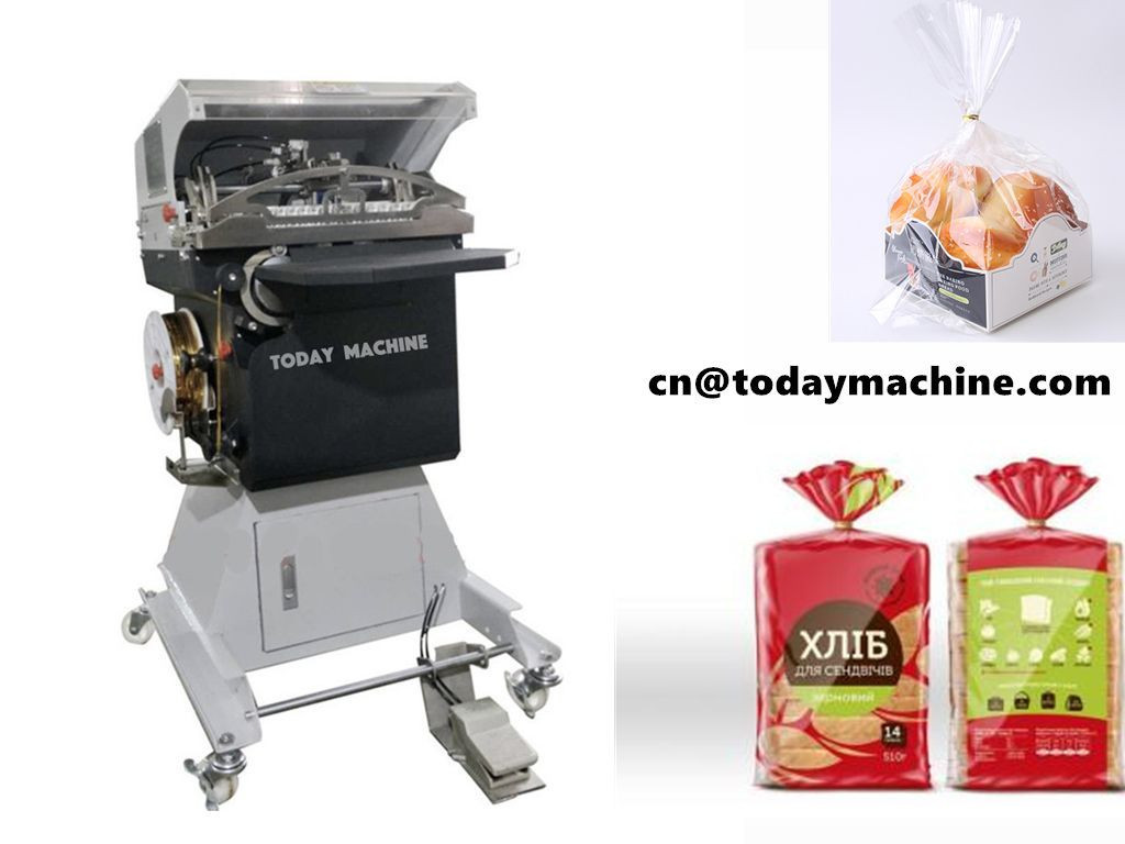 High Speech Whole wheat Bread Twist Tying Machine