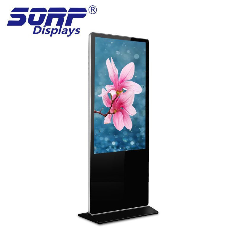 42 Inch free standing lcd digital signage advertising display screen player