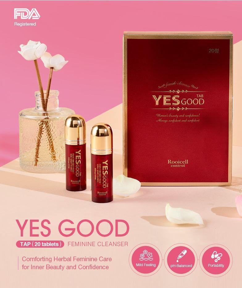 YES GOOD feminine Hygiene intimate wash 20 tabalets*500mg