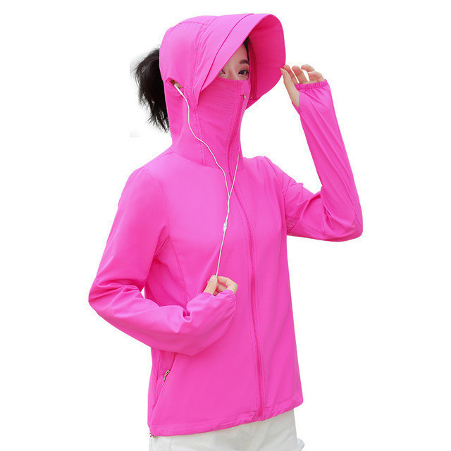 2020 New Arrival summer sunscreen women fashion outdoor jacket women ladies sun protection clothing