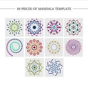 Amazon hot sell professional art supplies  of mandala dotting tools manufacturer(52 pcs as a kit )