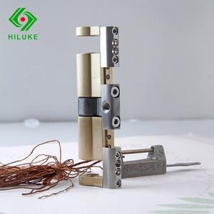 Brass cylinder adjust size high security door bottom door lock rim door lock