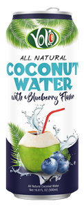 bulk 500ml canned 500ml fresh coconut water strawberry flavor from Private Label Beverage Supplier