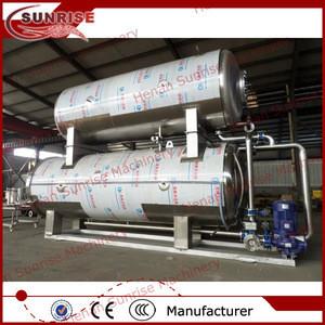 China manufacturer food retort pouch sterilizer
