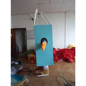 Customized Environmental Bag mascot costume for wear