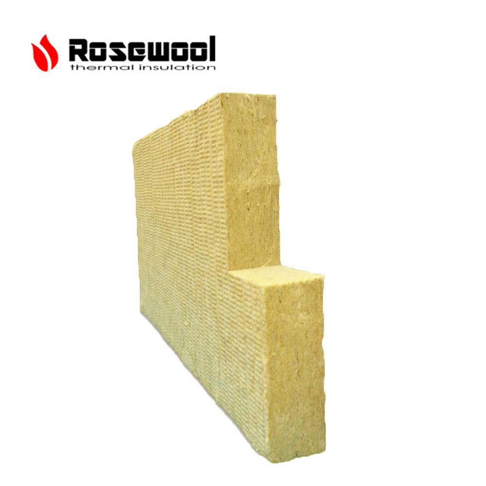 Density 120kg/m3 rock wool pipe rock wool fiber