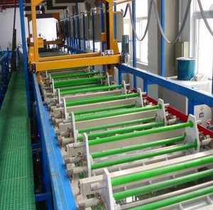 Electro Plating Production Line/Nickel Plating Plant/Auto Rack Zinc Plating Equipment