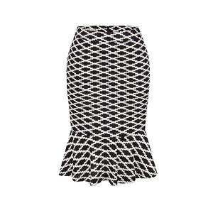 Factory Price Amazon Hot Sales Fashion Floral High Waist Women Pencil Skirt