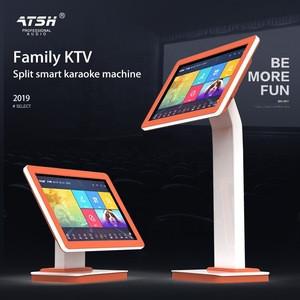 Factory wholesale infrared touch screen split type 19 inch 4TB karaoke machine