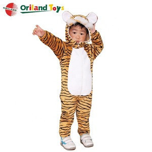 Fancy plush costume cartoon tiger mascot costumes from china ICTI Audited factory