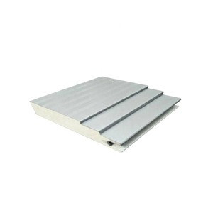 Fireproof /Insulated wall and roof PU/PUR/PIR/EPS sandwich panel for prefabricated house