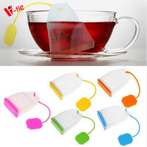 Food-grade Silicone Tea Bags Colorful Style Tea Strainers Herbal Tea Infusers Filters