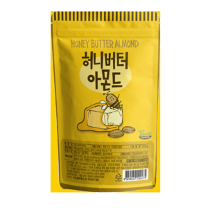 Gilim Honey Butter Alomond 210g Korean Favorite Snack