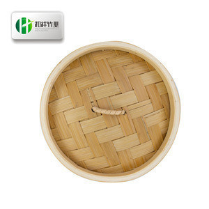 Handmade bamboo steamer food steamer