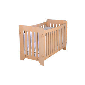 High-Quality Wooden Baby Crib