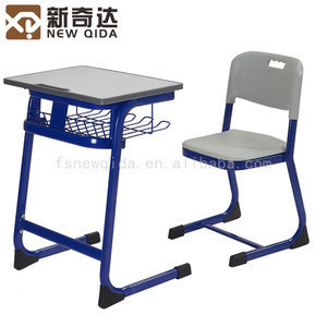 Modern school student study desk and chair good quality
