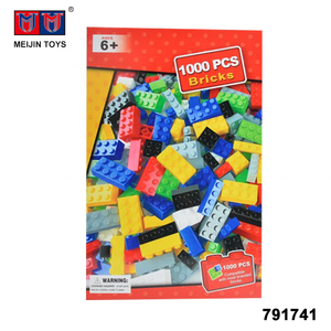 New design plastic educational toys 1000 pcs building blocks