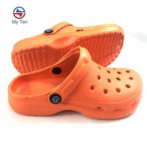 Plain Blank Style Clogs For Child EVA Clogs Kids Clog Shoes