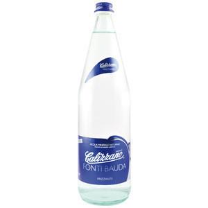 Premium Mineral Water (Sparkling) 1000 ml CLEAR GLASS Screw Plug