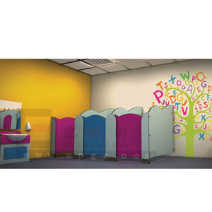 Primary School Student Toilet Partition For Children Furniture