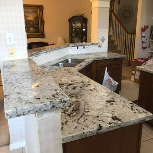 Ready made quick and easy swan grey granite countertops