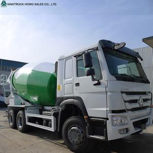 SINOTRUK HOWO Truck 6x4  8/9/10 Cubic meters Concrete Mixer Truck