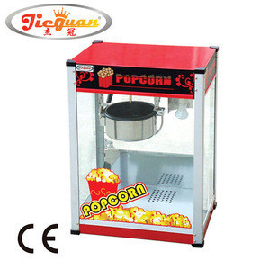 Stainless steel Commercial Electric Popcorn machine EB-801