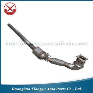 Three Way Catalytic Converter with Exhaust Flexible Pipe for VW Bora 1.8