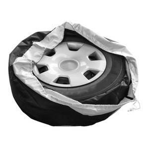 Tire Case Car Spare Tire Cover Tote Polyester Tire Storage Bags Car Wheel Protection