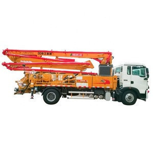 Truck-Mounted Concreted Boom Pumps HB43K concrete truck pump for sale in uae