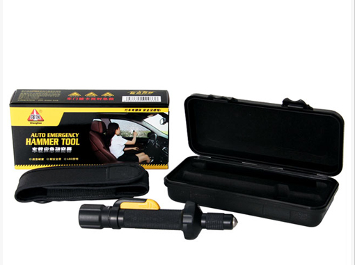 Qiangbao Auto emergency hammer tool 3 in 1 for cars emergency use
