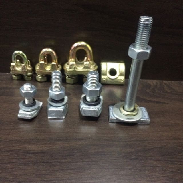 Elevator Bolt And Bulldog Clamp
