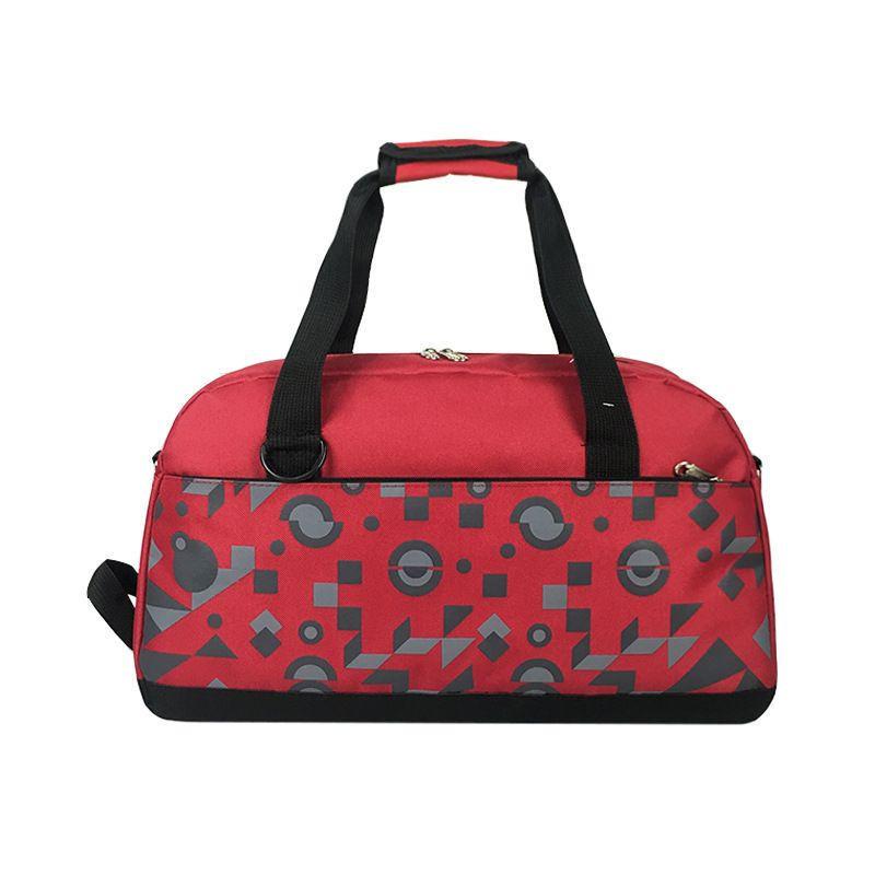 Printed patterns waterproof nylon women duffle gym bag Travel Duffel Bag