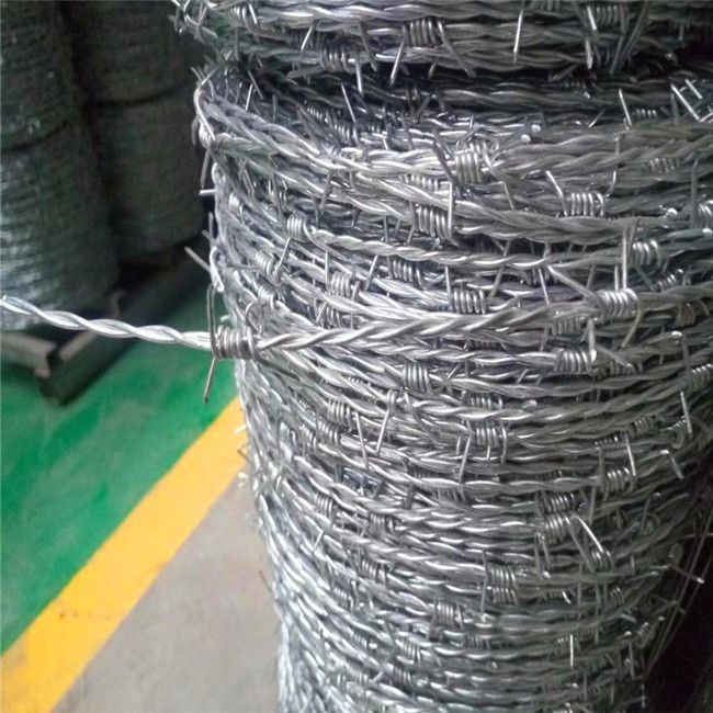 Hot sales free sample 50kg barbed wire price anti theft barbed wire mesh