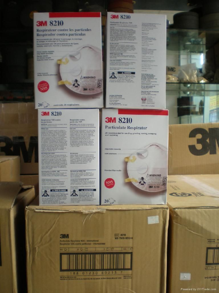 8210 N95 Particulate Respirator Face Mask