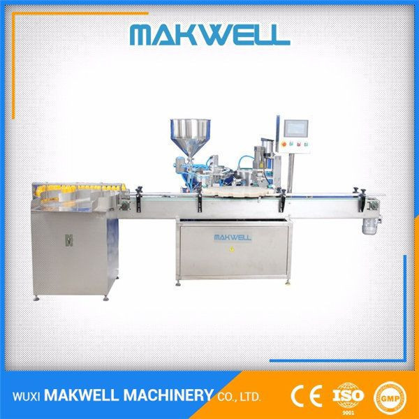 Cosmetics Cream Packing Filling Machine