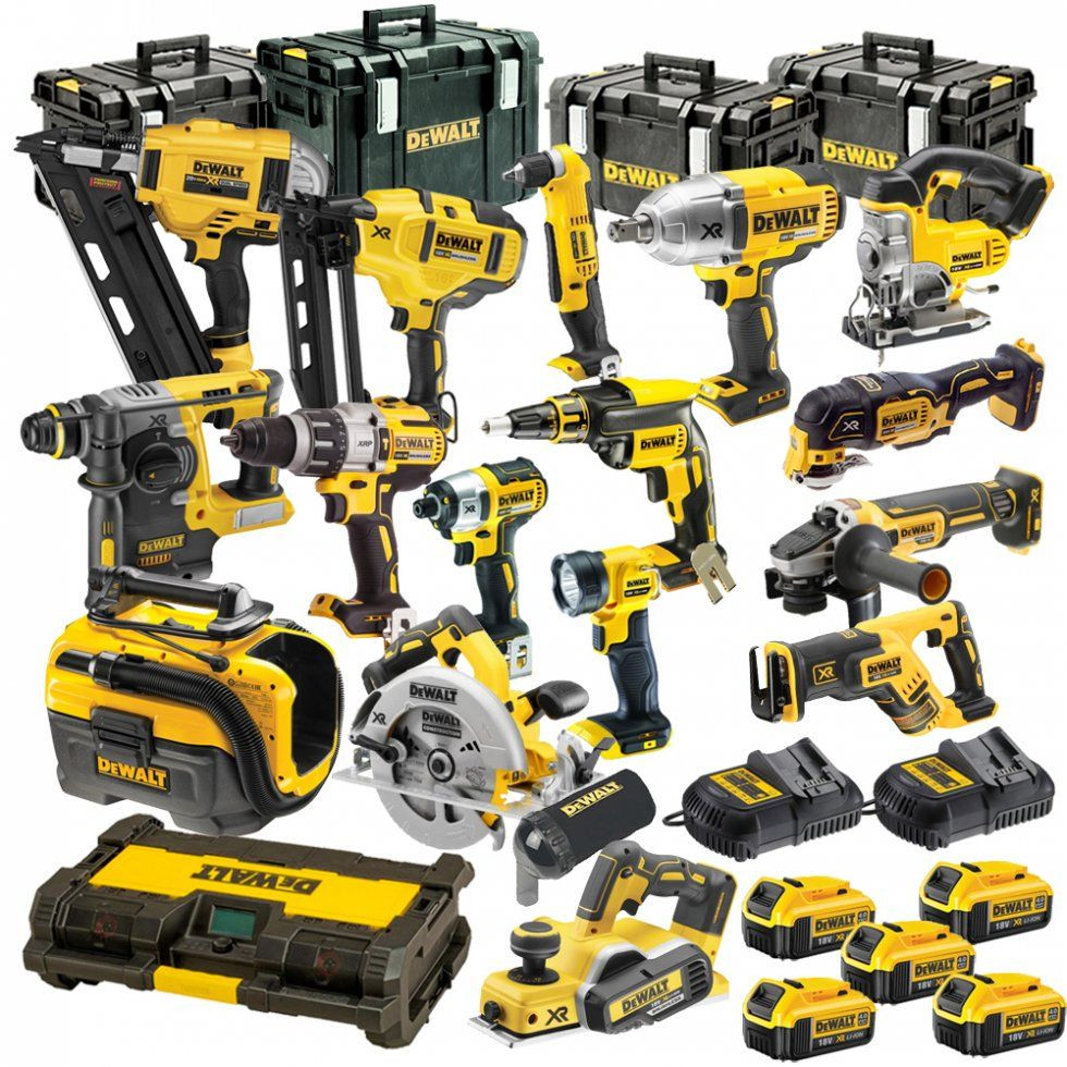 NEW DeWa-lts 20-x 15-Tool Lithium Ion Cordless Combos Kits in stock FREE SHIPPING