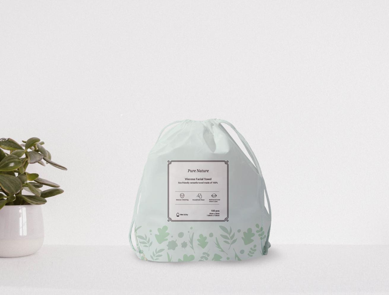 Disposable Face Towel-Biodegradable