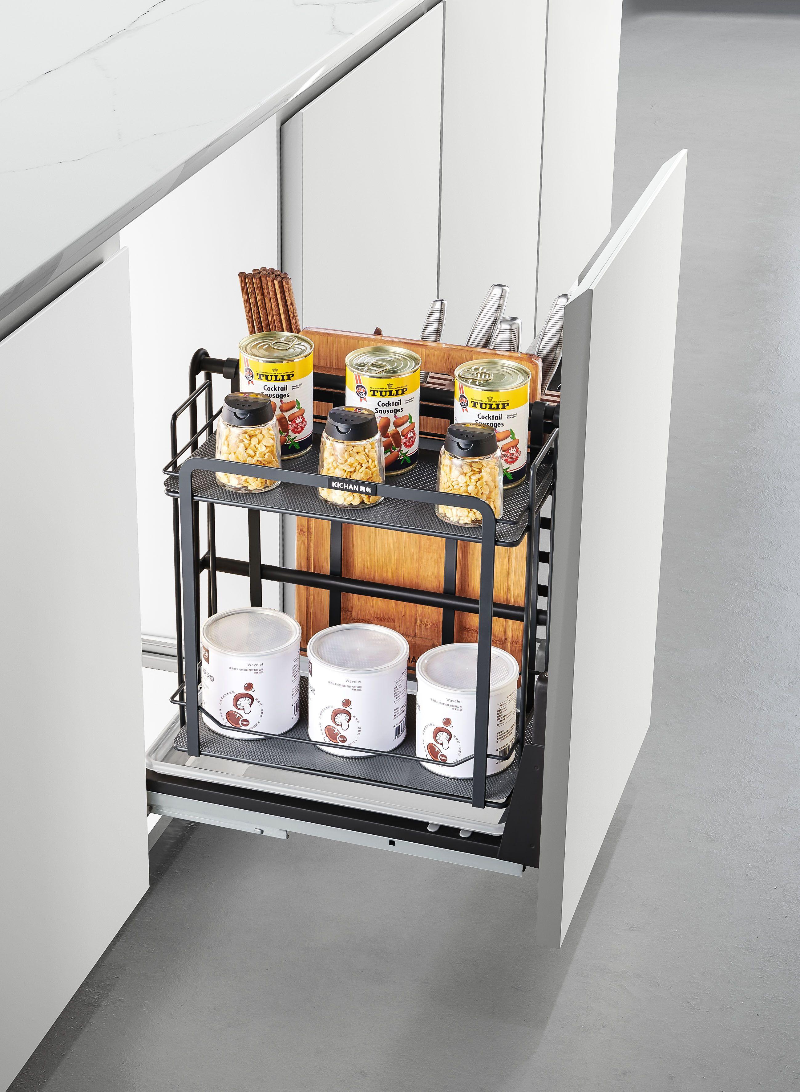Kitchen Cabinet Accessories Multipurpose Spice Basket