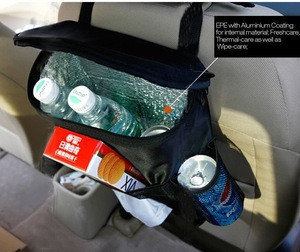 2015 Wear-proof Auto Seat Back Organize/ car back seat organizer with mesh pockets