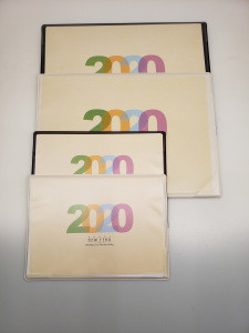 2020 Promotional Desk Stand Custom Printing Page A Day Calendar