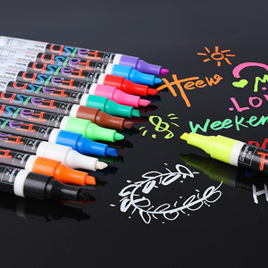 Art Pens Oil Based Permanent Marker Pen Bullet Tip Paint