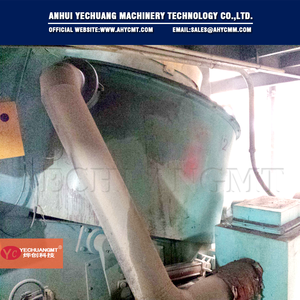 Automatic dry mortar mixer with 5 m3/h production