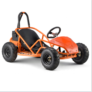 Cheap 4 wheel adult kids pedal racing elettric go kart electrico 1000w go kart cross buggy for sale