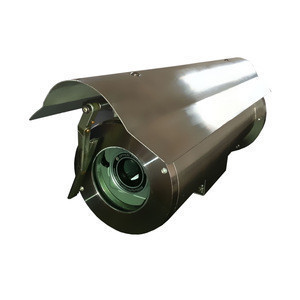 Cheap stainless steel anti explosion sun shield cctv camera housing with wiper