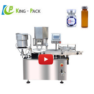 Chemical vial bottle dry powder filling machine