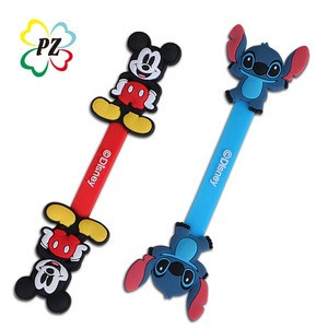 Custom PVC Mickey earphone cable winder
