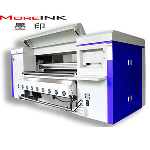 ENJET 1800mm 3200mm Digital Belt Printer direct print to fabric